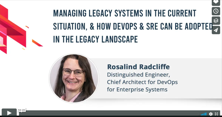 Managing Legacy Systems in the current situation
