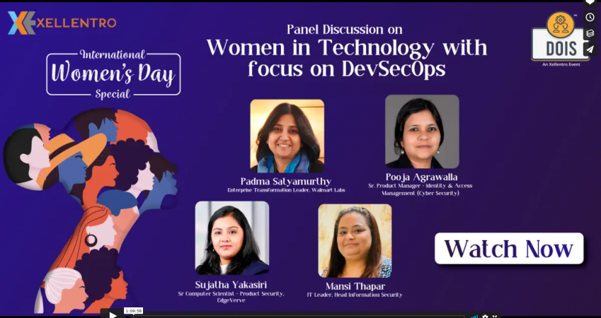 Women in Technology with focus on DevSecOps